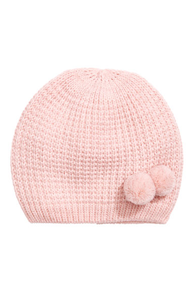 Glittery hat - Light pink/Glittery - Kids | H&M 1