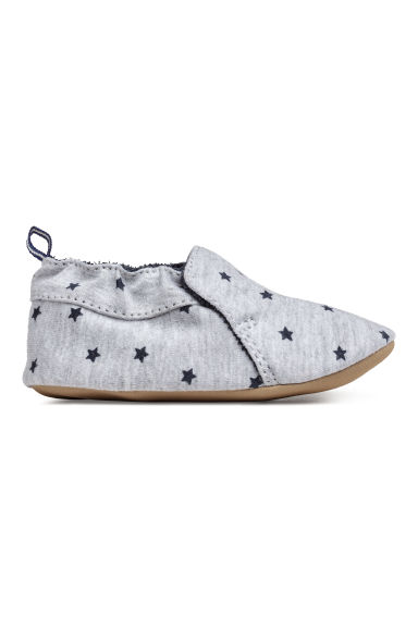 Slippers - Grey/Stars - Kids | H&M