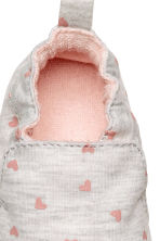 Slippers - Light grey/Heart - Kids | H&M 3