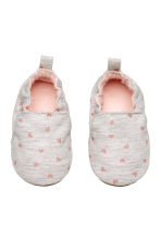 Slippers - Light grey/Heart -  | H&M CA 2
