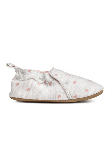Slippers - Light grey/Heart -  | H&M