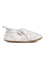 Slippers - Light grey/Heart -  | H&M CA 1