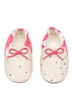 Slippers - Pink/Spotted - Kids | H&M CN 1