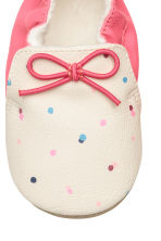 Slippers - Pink/Spotted - Kids | H&M CN 4