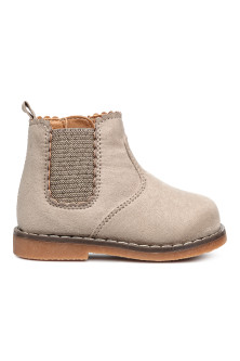 Bottines avec zip