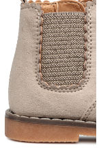 Boots with a zip - Beige -  | H&M 4