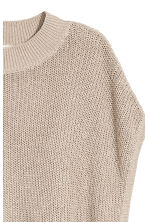 Knitted top - Light beige - Ladies | H&M IE 3