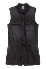 Denim playsuit - Black - Ladies | H&M 2