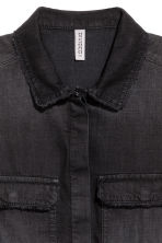 Denim playsuit - Black - Ladies | H&M 3