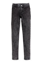 Treggings - Nero Washed out - BAMBINO | H&M IT 2