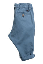 Cotton chinos - Grey-blue -  | H&M 2