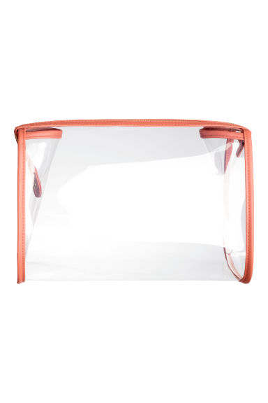 Transparent wash bag - Apricot - Ladies | H&M CA 1