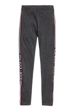 Jersey leggings - Dark grey marl - Kids | H&M CN 2