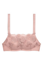 Lace push-up bra top - Powder pink - Ladies | H&M 2