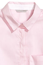 Fitted shirt - Pink - Ladies | H&M CN 2