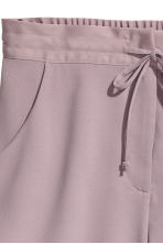 Crêpe shorts - Heather purple - Ladies | H&M 3