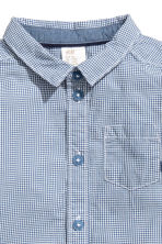 Cotton shirt - Blue - Kids | H&M 2