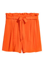 Korta shorts - Orange - DAM | H&M FI 2
