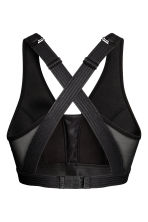 Sports bra High support - Black - Ladies | H&M 3