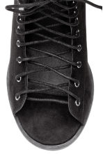 Sandals with open lacing - Black - Ladies | H&M 6