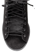 Sandals with open lacing - Black - Ladies | H&M 4