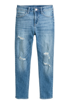 Relaxed Worn Jeans
