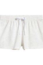 Pyjama top and shorts - White - Ladies | H&M CN 3
