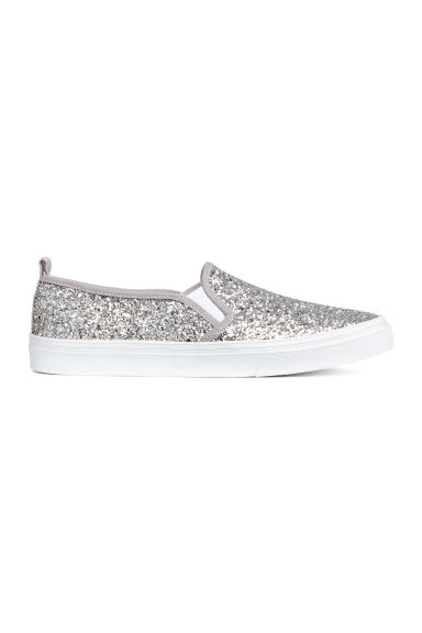 Slip on-sneakers - Silver - DAM | H&M FI