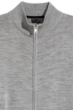 Zipped cardigan - Grey marl - Men | H&M CN 3