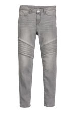 Skinny fit Biker jeans - Grigio denim -  | H&M IT 2