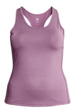 H&M+ Sports vest top - Heather - Ladies | H&M CN 2