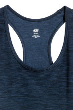 H&M+ Sports vest top - Dark blue - Ladies | H&M 2