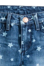 Skinny Fit Jeans - Denim blue/Star - Kids | H&M CN 4