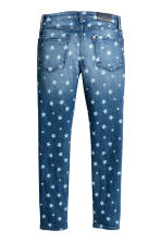 Skinny Fit Jeans - Denim blue/Star - Kids | H&M CN 3