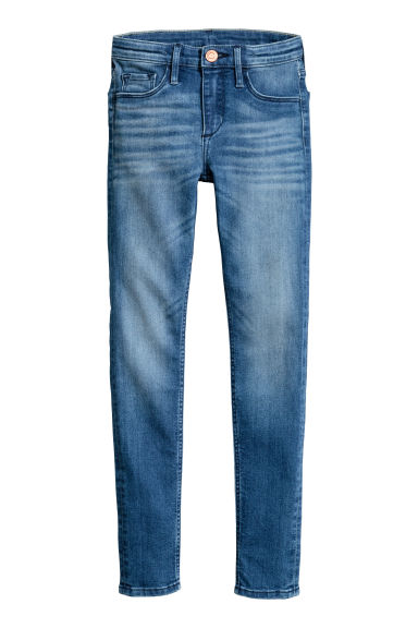 Skinny Fit Generous Size Jeans - Denim blue - Kids | H&M CA