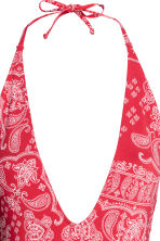 Halterneck swimsuit - Red/Paisley - Ladies | H&M CN 3
