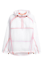 Lightweight running jacket - White/Orange - Men | H&M 2