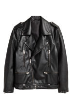 Biker jacket - Black - Men | H&M 2