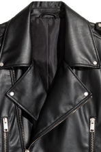 Biker jacket - Black - Men | H&M 4