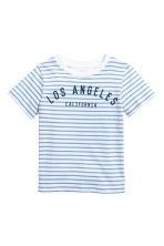 Printed T-shirt - White/Los Angeles -  | H&M 2