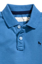 Piqué polo shirt - Blue -  | H&M 3