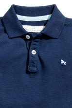 Polo - Donkerblauw - KINDEREN | H&M BE 3