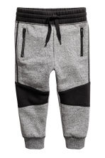 Joggers - Black/White marl - Kids | H&M 2