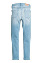 Skinny Fit High Worn Jeans - Light denim blue - Kids | H&M 3