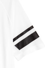 Short-sleeved sports top - White - Men | H&M CN 3