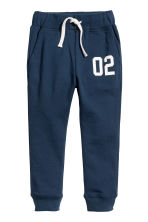 Hooded top and joggers - Dark blue -  | H&M 3