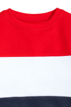 Sweatshirt - Red/White/Blue -  | H&M 3