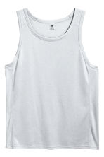 Sports vest top - Light grey - Men | H&M 2