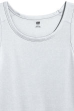 Sports vest top - Light grey - Men | H&M 3