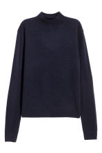 Cashmere jumper - Dark blue - Ladies | H&M CN 2